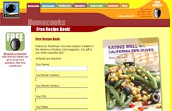 Free Eating Well Olives Recipe Book