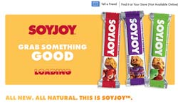 Free SoyJoy Nutrition Bars sample
