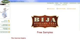 Free Sample of BIJA Healing Tea