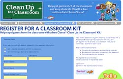 Free Clorox® Clean Up the Classroom! Kit