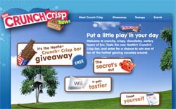 Free Nestle Crunch Crisp Bar