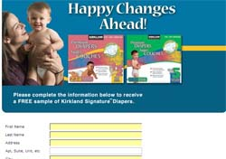 Free Kirkland Diapers