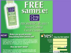 Free Clean & Clear Morning Burst Sample