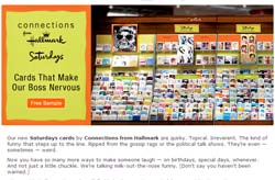 Free Saturdays cards by Connections from Hallmark
