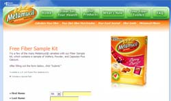 Free Metamucil Fiber Sample Kit