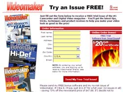 Free Camcorder and Digital Video Magazine