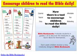Free Bible Bookmarks