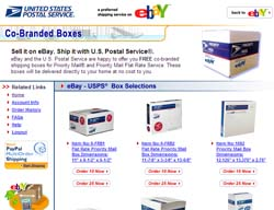 Free Co-Branded Shipping Boxes for Registered Ebay Users