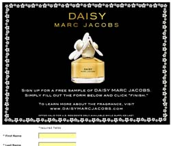 Daisy by Marc Jacobs Fragrance Sample