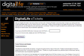 Free DigitalLife Tickets in NYC September 27-30th
