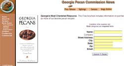 Free Georgia Pecan Cookbook