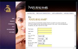NaturalLamb Condom Sample