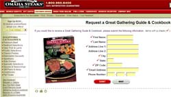 Omaha Steaks Cookbook