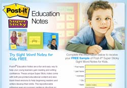 Free Post It Education Notes