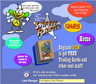 Bug's Safety Rangers Free Trading Cards and Cool Stuff