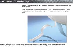 Free 3M Smooth Transition Tape and Dispenser