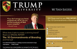 Free Report 10 Commandments of Branding by Donald Trump