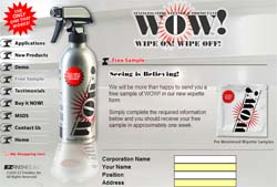 WOW Stainless Steel Cleaner Wipettes