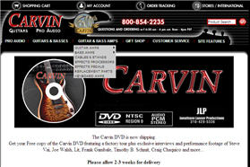 Free Carvin Guitar DVD