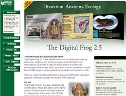 Free Digital Frog 2 Disection CD For Teachers Only