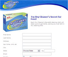 Free Dry Cleaner's Secret® Cleaning Cloth