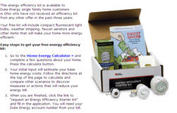 Free Energy Saver Kit for Duke Energy Customers Kentucky & Ohio