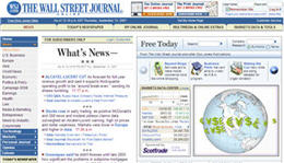 Free Wall Street Journal Online edition TODAY ONLY!