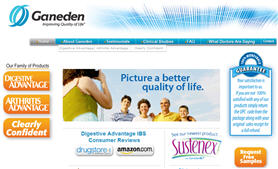 Ganeden Improving Quality of Life Choice of Samples for Digestive Problems