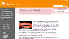 Free Choose to Know Bracelet