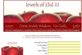 Free Copy of the Jewels of Elul III Religious Book