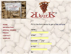 Free Corks Sample