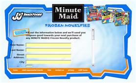 Free Coupon for Minute Maid Frozen Novelty