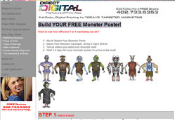 Build YOUR FREE Monster Poster!