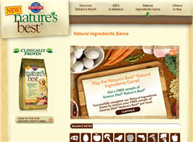 Science Diet Nature's Best Dog Food Sample