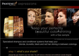 Free Pantene Pro-V Color Expressions Sample