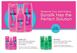 Free Sample of Sunsilk Shampoo