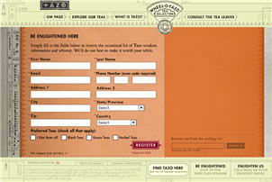 Free Tazo Tea Sample