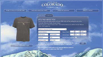 Free Colorado T-Shirt