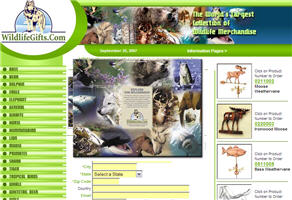 Free Wildlife Calendar and Catalog