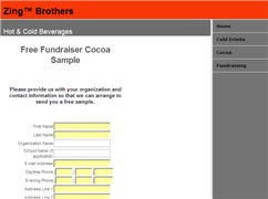 Zing Brothers Fundraising Sample