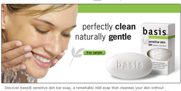 Free Basis Sensitive Skin Bar Walmart Sample
