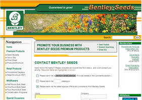Free Bentley Seeds Premium Variety Sample