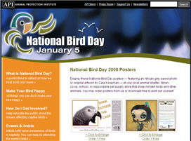 Free National Bird Day Posters