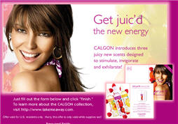 Free Calgon 3 Juicy New Scents Sample Pack