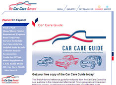 Free Car Care Guide