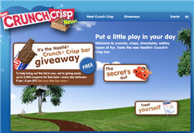 Free Nestle Crunch Crisp Candy Bar Coupon