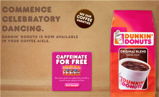 Free Dunkin Donuts Coffee Sample New Link