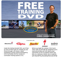 Free Getting Started DVD - A Cycling Workout