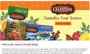 Free Celestial Seasonings Tea Walmart Sample