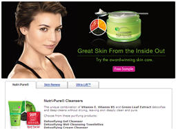 Free Garnier Nutrioniste Skin Care from Walmart Sample